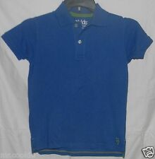 77Kids by AE Polo Pique Shirt Blue 8 by American Eagle Cotton Short Sleeve