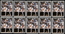 (10) PAUL MOLITOR 1981 TOPPS STICKERS # 91 - HALL OF FAME - MILWAUKEE BREWERS