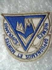 Patches- USAF Dppugnamus Et Montes-Heimes Superamus Patch (New*,85x68 mm)