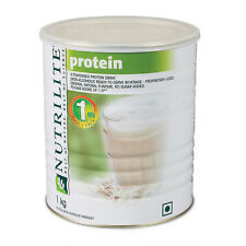 AMWAY Nutrilite Protein Powder- 1KG, 100% MONEY BACK GUARANTEE+ 12ML 2in1 FREE