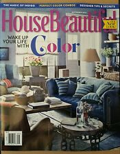 House Beautiful Perfect Combos Designer Tips Sept 2014 FREE Priority SHIPPING
