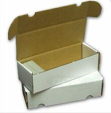 BCW 550 Count Cardboard Card Storage Box - Holds 490 Standard / 800 Gaming Cards