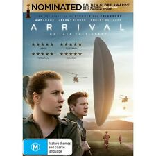 ARRIVAL-Jeremy Renner, Amy Adams-Region 4-New AND Sealed