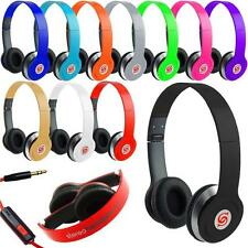 STEREO HEADPHONES DJ STYLE FOLDABLE HEADSET EARPHONE OVER EAR MP3 HEADPHONE SS