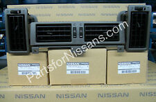 GENUINE NISSAN 1987-1992 PATHFINDER HARDBODY D21 PICKUP GREY AC VENT SET KIT
