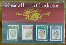 Music - British Conductors - GB Mint Stamp Presentation Pack (no. 120) - 1980