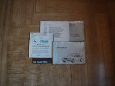 Mercedes Owners Manual W124 S124 TE E