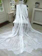 LAST ONE! MASSIVE 3.4M x228CM NEW LACE/NET FRENCH STYLE JOSETTE  CURTAIN/PANEL