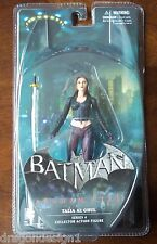 DC BATMAN ARKHAM CITY. TALIA AL GHUL SERIES 4 COLLECTOR ACTION FIGURE. NOC