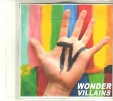 (DR777) Wonder Villains, TV - DJ CD