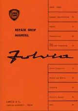 LANCIA FULVIA shop Manuale supplemento incluso BOOK LIBRO AUTO