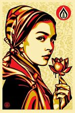 Shepard Fairey Obey Giant Natural Springs Signed Offset Poster Art Print