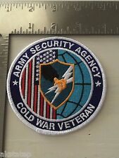 US ARMY ASA (ARMY SECURITY AGENCY) COLD WAR VETERAN PATCH