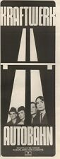 22/6/85PNO7 ADVERT: KRAFTWERK THE DIGITALLY RE-MIXED ALBUM AUTOBAHN 15X5