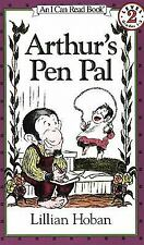Arthur's Pen Pal Book and Tape (I Can Read Book 2)-ExLibrary