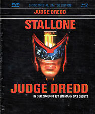 JUDGE DREDD - Limited Edition Mediabook - Blu Ray / Dvd