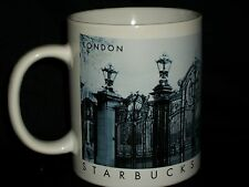 Starbucks London City Mug Coffee Gates Kensington Palace Collector Series Blue