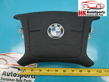 BMW E38 7 SERIES STEERING WHEEL AIR BAG FRONT LEFT DRIVER SIDE HEATED BLACK