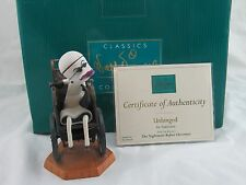 """WDCC """"Unhinged"""" Dr. Finklestein from The Nightmare Before Christmas in Box, COA"""