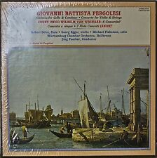PERGOLESI: Sinfonia for Cello.../Concerto for Violin...+SEALED1981 3LP VOX BOX