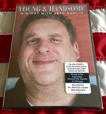 JEFF GARLIN - YOUNG & HANDSOME sealed DVD with hype sticker CURB YOUR ENTHUSIASM