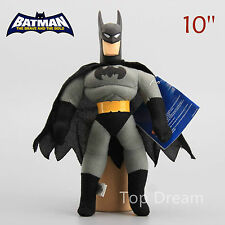 DC Grey Batman The Dark Knight Rises Plush Toy Soft Stuffed Doll 10'' Teddy
