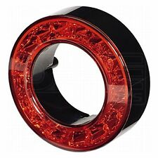 Rear Light: LED 12v Stop / Tail 60mm Ring Red Lens | HELLA 2SB 009 362-041