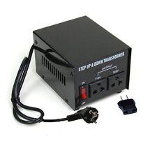 500w Watt Voltage Converter Transformer 110 - 220 Volt