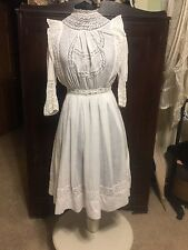 Antique Victorian Edwardian Tea Dress Teen Or Petite