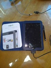 Barnes & Noble Nook Tablet 8GB, Wi-Fi, 7in - w /  luxury dark blue magnetic case