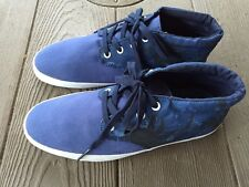 NEW Men's VANS Off the Wall Del Norte Palm Camo True Navy Blue Skate Size 9 M