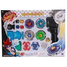 Fight Master Beyblade Top Set Spinning Metal Fusion 4D Launcher Toy Gift
