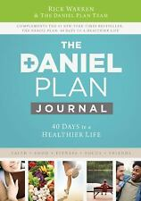 The Daniel Plan Journal 40 Days to a Healthier Life Hardcover