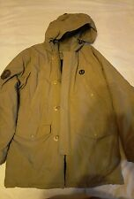 Fred Perry parka winter jacket sz M