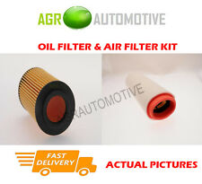 DIESEL SERVICE KIT OIL AIR FILTER FOR LAND ROVER FREELANDER 2.0 111 BHP 2000-06