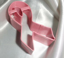 Pink Ribbon Breast Cancer Awareness cookie cutter shortbread recipe sugar cookie