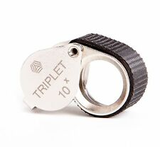"Shvabe 10x Triplet Loupe Magnifier. 16mm (.62"") NEW. Jewelry Instrument. VOMZ"