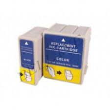 2 CARTUCCE PER EPSON T051 T052 Stylus Color 850 Color 1520 Color 440 460 640 660