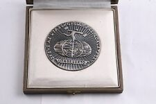 Hungary MÁV 1973 25 Year Service Travel Transportation Unknown Train Medal Box