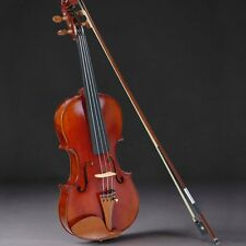 Vif 4/4 Full Size Handmade Natural Acoustic Violin Student Fiddle Case Bow Set