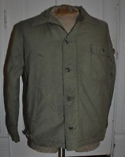 Vietnam Era USN A-2 Cold Weather Deck Jacket Permeable ~ size L (42-44)