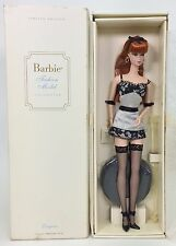 BARBIE FASHION MODEL COLLECTION LINGERIE #6 REDHEAD SILKSTONE NRFB