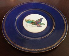 Stunning Wedgwood Lustre Large 27Cm Butterfly Wall Plate