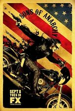 POSTER SONS OF ANARCHY HARLEY DAVIDSON BIKE FX SHOW #2