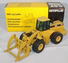 NZG - Caterpillar 966F  Log Loader. Released In 1992. 1:50th MIB Discontinued.