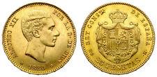 ALFONSO XII. 25 PESETAS. 1880*80. BUENA CONSERVACION.
