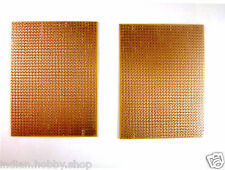 DIY Perforated single sided 3x4 Inch Prototype PCB Board (2 Piece)