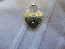 Tiffany & Co. Sterling Silver 925 Heart Lock Pendant.