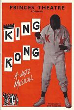 "Nathan Mdledle ""KING KONG"" South African Musical 1961 London Program (Playbill)"
