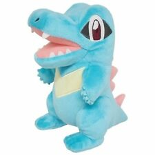 1x Genuine Sanei (PP42) Totodile Stuffed Plush Pokemon Go All Star Collection